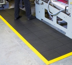 TileSTAT Interlocking ESD Rubber Anti-FatigueTiles