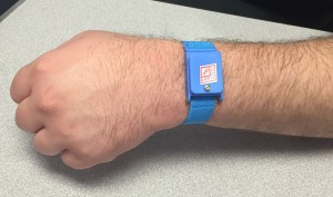 wireless wrists strap